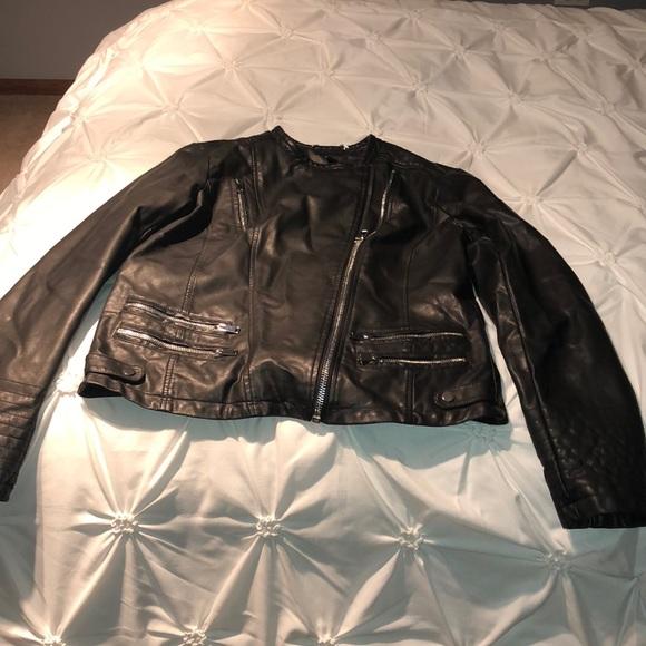 a.n.a Jackets & Blazers - Faux leather jacket